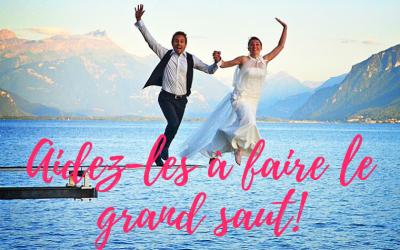 Accompagner des fiancés : aidez-les à faire le grand saut !