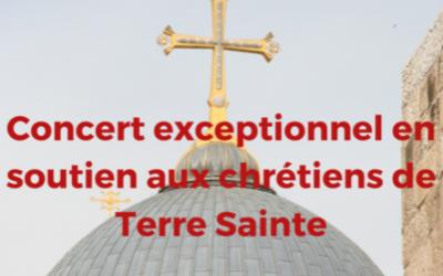 1 000 ans d'Ave Maria : concert au profit des chrétiens de Terre Sainte