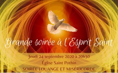 Grande soirée à l'Esprit Saint