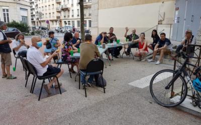 Les repas du dimanche aux personnes de la rue dans le Progrès