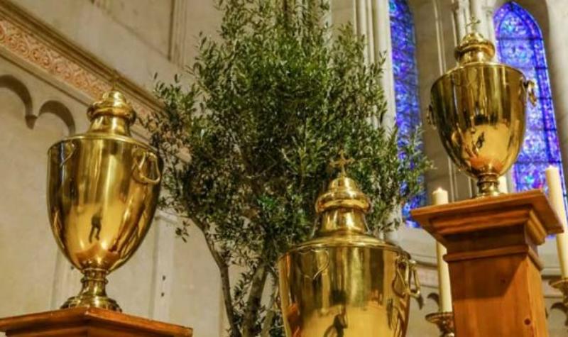 Mercredi Saint : Messe chrismale