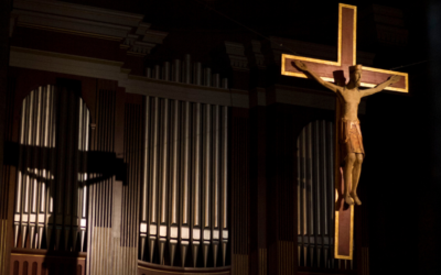 Concert d'orgue à Saint Pothin : petit livre d'orgue du père Marcel Godard