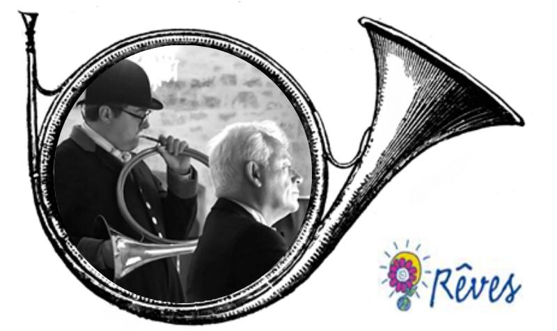 Concert trompes de chasse, chœur et orgue en faveur de l'Association Rêves
